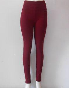 #Legging #vino corte 3/4, super #fashion