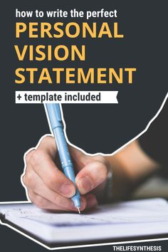 Personal vision Statement examples to show you how to craft your own with ease. Vision statements aren't just for big companies. You can have impact too! Career Success, Career Change, Career Goals, Finding Purpose In Life, Purpose Driven Life, Career Ideas, Career Advice, Vision Statement Examples, Purpose Statement