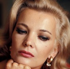 Gena Rowlands Hollywood Star, Old Hollywood Glamour, Classic Hollywood, Best Actress, Best Actor, Gena Rowlands, John Cassavetes, Dramatic Classic, Celebrity Faces