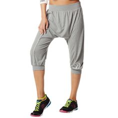 Hang Loose Harem Capri Pant | New collection! Save 10% on Zumba® wear on zumba.com. Click to shop with 10% discount http://www.zumba.com/en-US/store