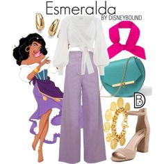 DisneyBound is meant to be inspiration for you to pull together your own outfits which work for your body and wallet whether from your closet or local mall. As to Disney artwork/properties: ©Disney Disney Bound Outfits Casual, Cute Disney Outfits, Disney Themed Outfits, Disney Dresses, Cute Outfits, Princess Inspired Outfits, Disney Princess Outfits, Disney Inspired Fashion, Disney Fashion