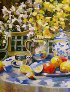 cecilia ross lee paintings for sale - Bing images Country Paintings, Paintings I Love, Paintings For Sale, Floral Paintings, Oil Paintings, Still Life Art, Pottery Art, Lovers Art, Art Photography