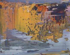 Gerhard Richter. Abstract Painting  1997. 29 cm x 37 cm. Oil on Alu Dibond. Catalogue Raisonné: 841-6