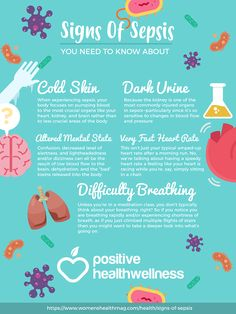 5 Signs Of Sepsis You Need To Know About Positive Health Wellness Infographic Medical Surgical Nursing, Oncology Nursing, Nursing Mnemonics, Nclex, Nursing Tips, Funny Nursing, Nursing Planner, Nursing Programs, Infection Control Nursing
