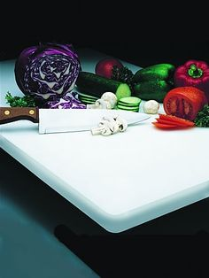 Apex Plasti-Tuff Custom Sized High Denisity Polyethylene Thermopastic Cutting Boards | seattleluxe.com