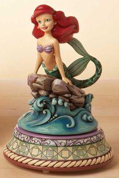 Jim Shore Disney Ariel On Rock Musical