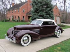 1937 Cord 810 Phaeton Convertible for sale Cord Automobile, Automobile Companies, Auburn Automobile, Retro Cars, Vintage Cars, Antique Cars, Convertible, Auburn Car, Cord Car