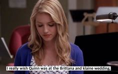 Agree or disagree? #glee #gleeconfessions #quinnfabray