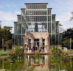 The Jewel Box Greenhouse in St. Louis, Missouri - cool place to get married