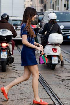 Tods FW17 Milan Fashion Week Doina Street Style