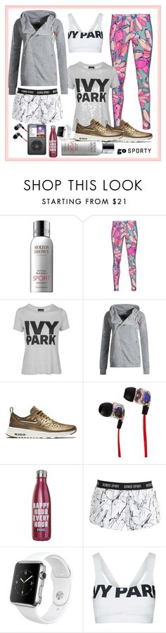 """Better work girl"" by arara-sustentavel ❤ liked on Polyvore featuring Molton Brown, adidas Originals, Topshop, NIKE, Skullcandy, Bonds and Apple"