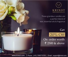 Get home the perfect blend of wax, essential oil and fragrance.  http://ow.ly/TpK6307sTpX #homefragrance #scentedwax #scentedcandles