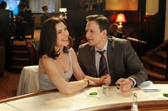 "Would that we could all look this hot after this many tequila shots [Julianna Margulies Josh Charles in ""The Good Wife""]"