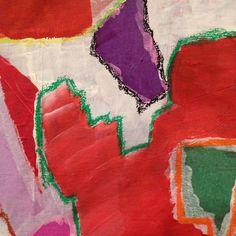 """Detalhes do quadro """"Fragmentos de cor"""" do querido amigo @brunosolferini  Em exposição até dia 27.08 na  Sociedade Antroposófica  Rua da Fraternidade 156  @arteuniversale vale a pena conferir :) #artwork #art #artsy #artist #artoftheday #abstract #gallery #painting #pintura #artistas #artista #madeinbrasil #brazilianartists #arte #quadros #evento #artes #galeriadearte #galeria #cores #colors #cor #brunosolferini #pintando #recortes #enquadramentos #detalhes #dipinto"""