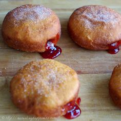 Best dang jelly donut that just so happens to be gluten free too (based off Polish paczki pastries):