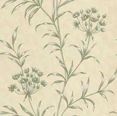 Agapanthus Green wallpaper by Zoffany