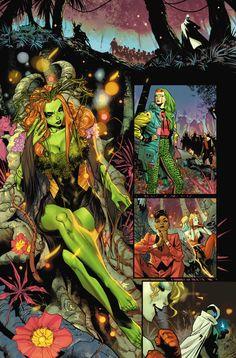 Comic Art, Comic Books, Spiderman, Batman, Dc Comics Art, Poison Ivy, Rogues, Superhero, Fictional Characters