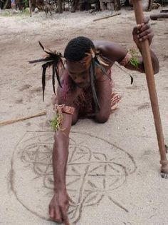 vanuatu sand drawing description - Google Search