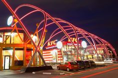 Architectural Lighting Design - Foodstrip Amsterdam, Amsterdam, The Netherlands