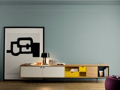 Contemporary style wooden sideboard AURA C9 Aura Collection by TREKU | design Angel Martí, Enrique Delamo
