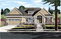 Craftsman Style Floor Plans Plan: 23-464