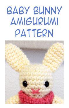 Baby Bunny Amigurumi ~Free Pattern