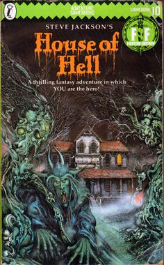 Fighting Fantasy - House of Hell by Steve Jackson (1984)