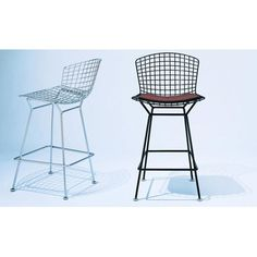 Knoll ® Bertoia Stool in Polished Chrome - Quick Ship! | AllModern