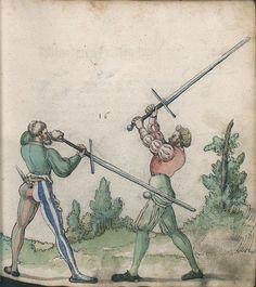Title: Goliath (MS Germ.Quart.2020), Page: Folio 28r, Date: 1510-1520