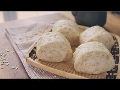 [Eng Sub]Milk-and-Oat Steamed Buns 牛奶燕麦馒头【曼食慢语】第二季第18集 *4K - YouTube Steamed Buns, Breakfast Tea, Angel Food Cake, Cooking Videos, Bao, Chinese Food, Cake Recipes, Milk, Food Cakes