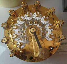 calculating machine of Hahn (1739-1790) by Johann Christoph Schuster (© Arithmeum Museum, Bonn)