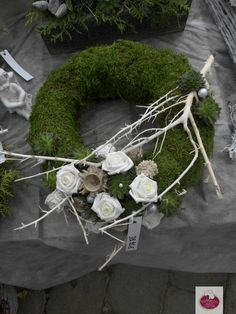 Christmas Floral Arrangements, Funeral Flower Arrangements, Christmas Table Centerpieces, Funeral Flowers, Flower Centerpieces, Flower Decorations, Christmas Plants, Christmas Wreaths, Christmas Decorations