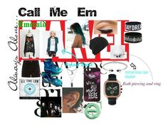 """""""Call Me Em"""" by nuhaehsan on Polyvore featuring art"""