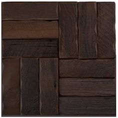 Reclaimed Barn Wood Tiles and Planks Wood Wall Tiles, Hardwood Floors, Flooring, Reclaimed Barn Wood, Backyard, Planks, Kitchen, Inspiration, Furniture