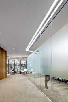 frosted glass doors/conf. room