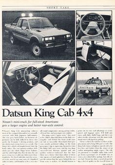 Nissan Add. Pick Up Nissan, Nissan 4x4, Nissan Trucks, Mini Trucks, 4x4 Trucks, Nissan Frontier 4x4, Nissan Hardbody, Datsun Car, Mighty Max