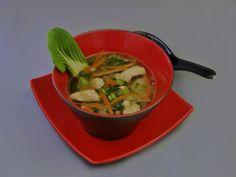 Pak Choi-Suppe mit Hähnchenfleisch, ein sehr schönes Rezept aus der Kategorie Gemüse. Bewertungen: 2. Durchschnitt: Ø 3,8.