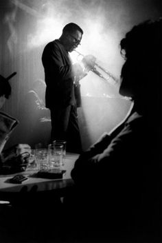 Miles Davis. 1958 - Birdland Jazz Club NYC