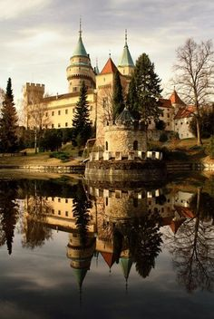 definitely the most beautiful castle in Places Around The World, Oh The Places You'll Go, Travel Around The World, Places To Travel, Places To Visit, Around The Worlds, Castle Ruins, Medieval Castle, Bratislava