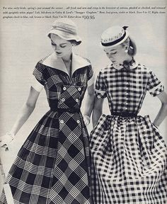 I absolutely love Gingham! And that plaid is fabulous too!