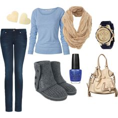 <3 This Outfit && The Ugg Boots!