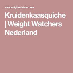 Kruidenkaasquiche | Weight Watchers Nederland