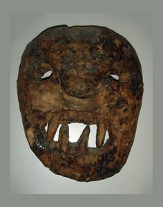 Primitive Himalayan Shamans mask from Middle Hills, Nepal