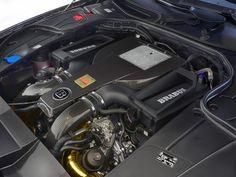 Motor do S63 Brabus 850 (Foto: Divulgação)