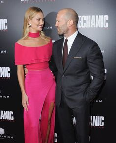 Rosie Huntington-Whiteley Looks Like Barbie During a Date Night With Jason…