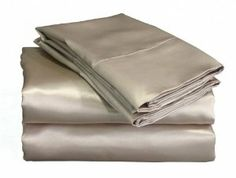 Scent-Sation Charmeuse Satin 4-Piece Sheet Set, Queen, Mocha by Scent-Sation. $32.00. Machine washable easy care no iron. tunnel elastic for better fit. 100-percent woven polyester. 230 thread count. 100% polyester. Our luxurious charmeuse satin sheet set brings the comfort of lingerie to your bed. They are a dream to sleep on and have the silkiest feel ever created.