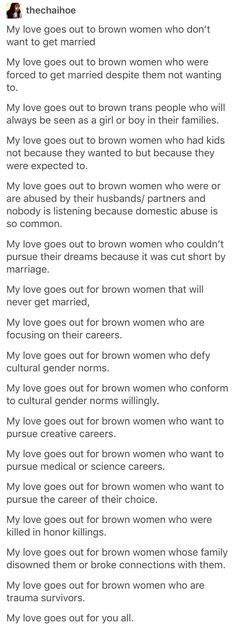 I did not realize how many of these are applicable to me personally or to other women I know