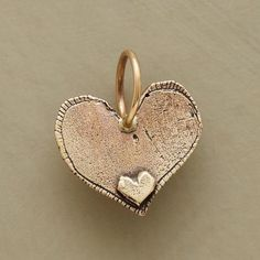 GOLD ALWAYS HEART CHARM: View 2 Oh My Heart, Follow Your Heart, Heart Of Gold, Heart Art, Happy Heart, With All My Heart, Heart Ring, Heart Pendant Necklace, Heart Pendants