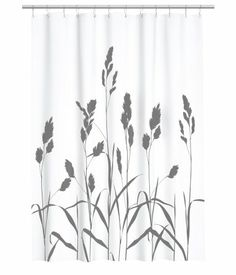 Duschvorhang mit Muster, z.B. von H&M