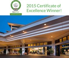 #HOTELS #SWD #GREEN2STAY MAUI COAST HOTEL    Wow! For the 5th year in a row, we received the Certificate of Excellence from TripAdvisor! With the 5-time streak, we entered the Hall of Fame. Thank you to all who reviewed & supported us! #COE2015